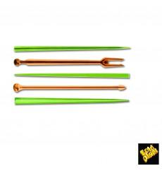 Pique en Plastique Snack Stick Multicolore 90mm (1650 Utés)