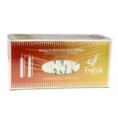 Cure-dents en Bois Rond 2 Bouts en Sachet 65mm (1 Uté)