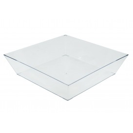 Plateau Fiesta Transparent 250x250 mm (30 Utés)