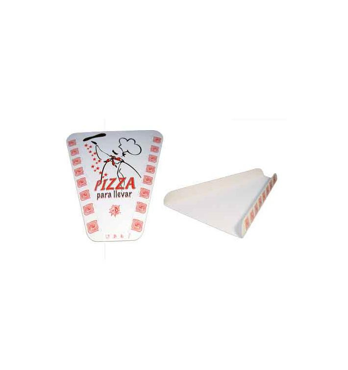 Part de Pizza à emporter (100 Unités)
