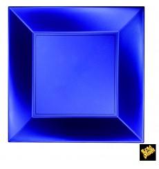 Assiette Plastique Plate Bleu Nice Pearl PP 290mm (144 Utés)