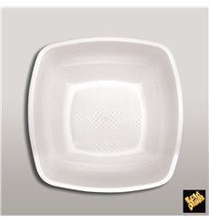 Assiette Plastique Réutilisable Creuse Blanc  PP 180mm (300 Utés)