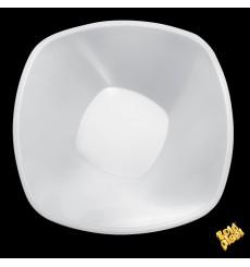 """Bol en Plastique PP """"Square"""" Blanc 3000ml Ø27,7cm (3 Utés)"""