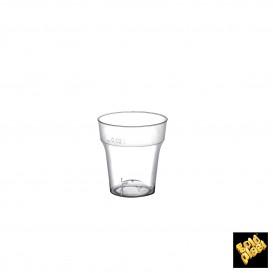 Verre en Plastique à Shot Moon Transp. PS 20ml (50 Utés)