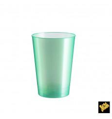 Verre Plastique Moon Tiffany Pearl PS 230ml (50 Unités)