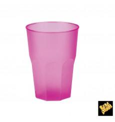 """Verre Plastique """"Frost""""Fuchsia PP 350ml (200 Unités)"""