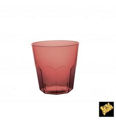 Verre Plastique Bordeaux Transp. PS Ø73mm 220ml (50 Utés)