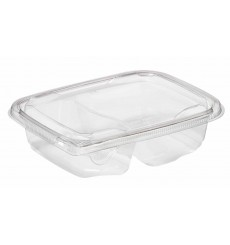 Saladier de Plastique 180x140x40mm PET 600ml (65 Utés)