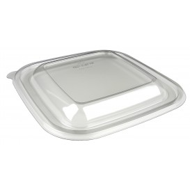 Couvercle pour Saladier de Plastique PET 190x190mm (300 Utés)