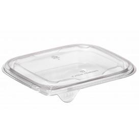Couvercle Plat pour Saladier Plastique PET 12x12cm (1000 Utés)