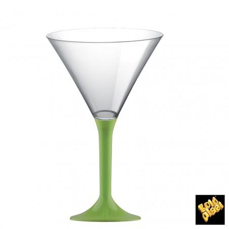 Flûte en Plastique Cocktail Vert Lime 185ml (200 Unités)