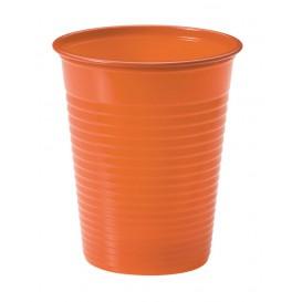 Gobelet Plastique Orange PS 200ml (1500 Unités)