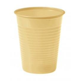 Gobelet Plastique Creme PS 200ml (1500 Unités)