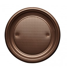 Assiette Plastique Plate Creme PS 170mm (50 Unités)
