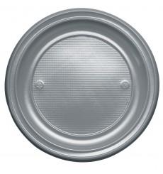 Assiette Plastique Plate Or PS 220mm (780 Unités)