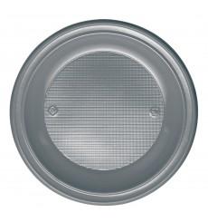 Assiette Plastique Plate Or PS 220mm (30 Unités)