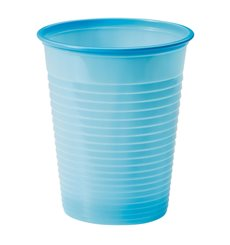 Gobelet Plastique Bleu Foncé PS 200ml (50 Unités)