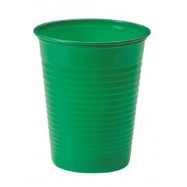 Gobelet Plastique Jaune PS 200ml (50 Unités)