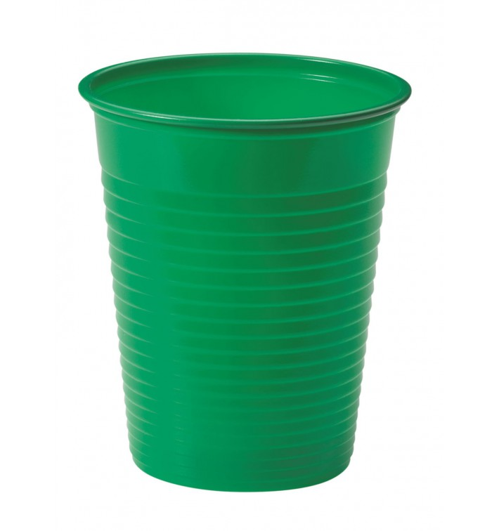 Gobelet Plastique JaunePS 200ml (1500 Unités)