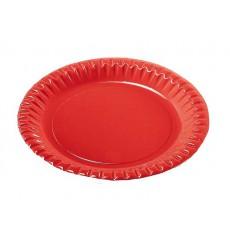 Assiette ronde Carton Or 230mm (300 Unités)