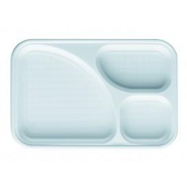 Barquette Plastique PS Blanc 3C 315x210mm (400 Utés)