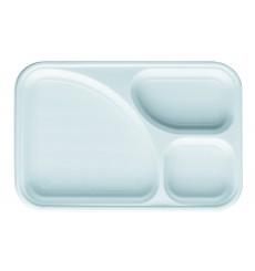 Barquette Plastique Blanc 3C 315x210mm (400 Utés)
