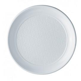 Assiette Plastique PS Plate Blanche 250mm (800 Unités)