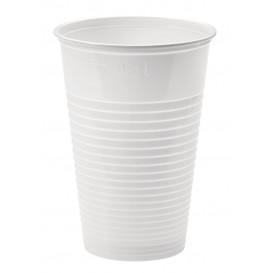 Gobelet Plastique PP Blanc 230ml Ø7,0cm (100 Unités)