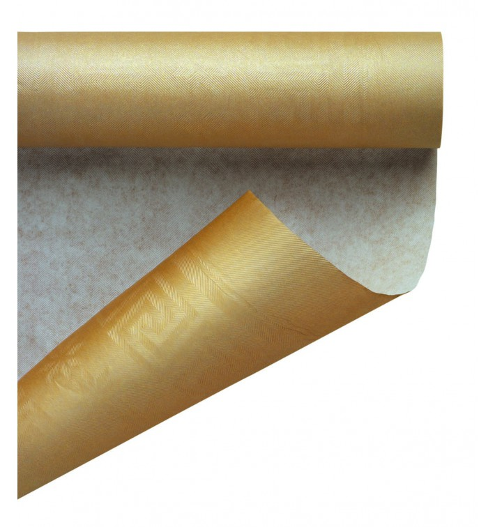 Nappe en Papier en Rouleau Or 1,2x7m (25 Utés)