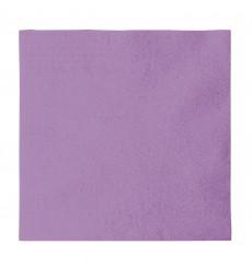 Serviette Papier 2 épaisseurs Bleu 33x33cm (1200 Unités)