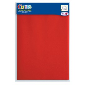 Set de Table papier rouge 1,2x1,8m (24 Utés)