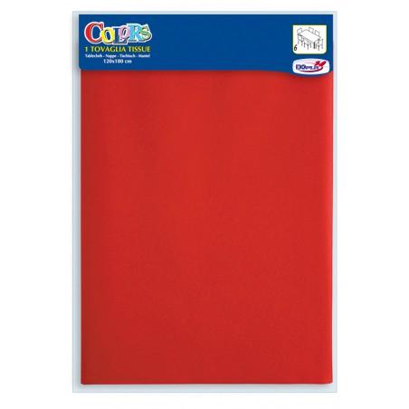 Set de Table papier 1,2x1,8m rouge (24 Uté)