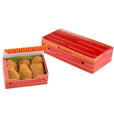 Boîte pour repas à emporter 145x90x45mm (25 Utés)