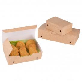 Boîte Repas à emporter Petit Kraft 115x72x43mm (750 Utés)