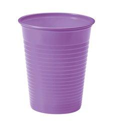 Gobelet Plastique Lilas PS 200ml (50 Unités)