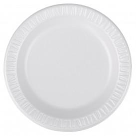 """Assiette FOAM """"Quiet Classic"""" Thermique Blanc Ø150mm (125 Unités)"""