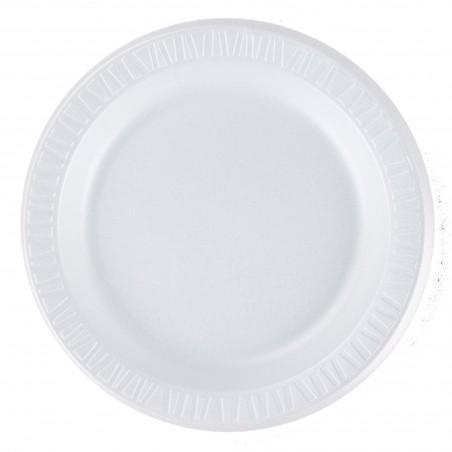 """Assiette FOAM """"Quiet Classic"""" Thermique Blanc Ø230mm (125 Unités)"""