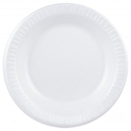 """Assiette FOAM """"Quiet Classic"""" Thermique Blanc Ø260mm (500 Unités)"""
