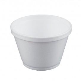 Pot en Foam Blanc 6OZ/180ml Ø8,9cm (50 Unités)