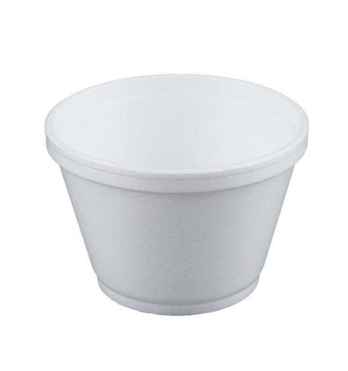 Pot en Foam Blanc 6OZ/180ml Ø8,9cm (1000 Unités)