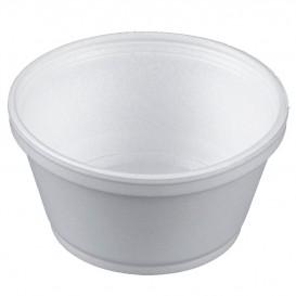 Pot en Foam Blanc 8OZ/240ml Ø11cm (50 Unités)