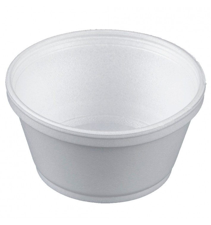 Pot en Foam Blanc 8OZ/240ml Ø11cm (50 Unités)