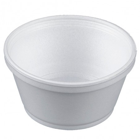 Pot en Foam Blanc 8OZ/240ml Ø108mm (50 Unités)