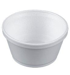 Pot en Foam Blanc 8OZ/240ml Ø108mm (50 Unités)