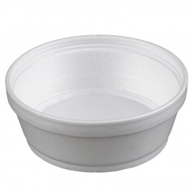 Pot en Foam Blanc 8OZ/240ml Ø11,7cm (500 Unités)