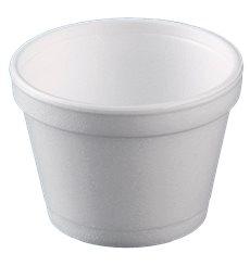 Pot en Foam Blanc 8OZ/355ml Ø108mm (25 Unités)