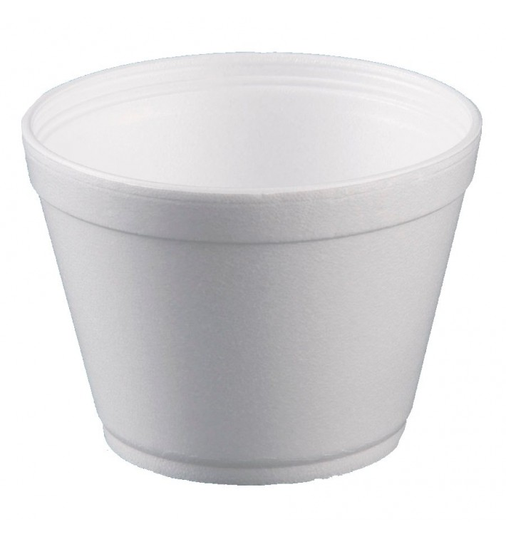 Pot en Foam Blanc 16OZ/475ml Ø11,7cm (500 Unités)