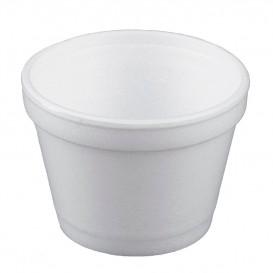 Pot en Foam Blanc 4OZ/120ml Ø7,4cm (50 Unités)