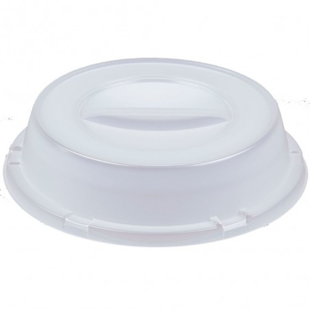 Couvercle Haut Plastique PS Translucide Ø240mm (125 Unités)