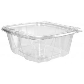 Récipient Inviolable Plastique PET Couvercle Plat 950ml (100 Utés)